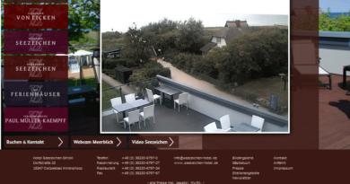 Webcam Ahrenshoop Strandaufgang und Meerblick