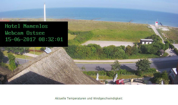 Ahrenshood Ostsee Strand Webcam