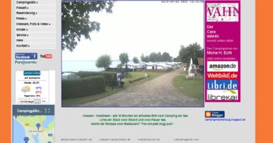 Webcam Alt Schwerin Campingplatz