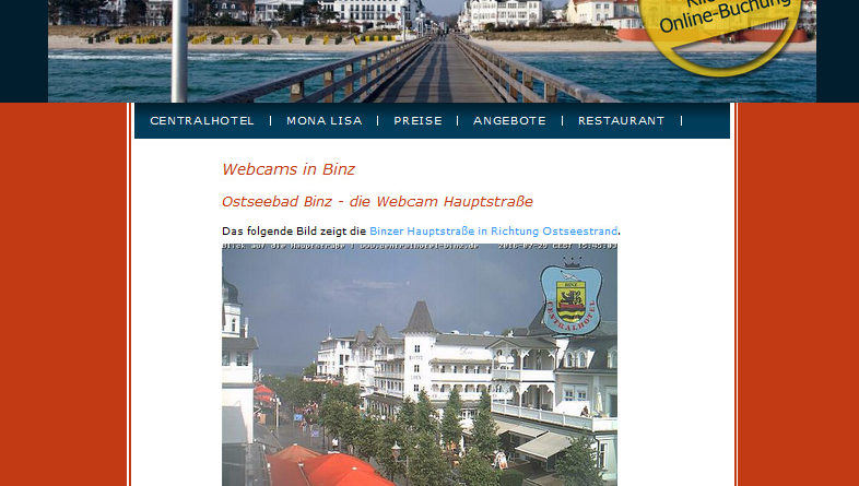 Webcam Binz Hauptstraße