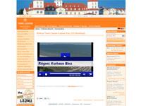 Webcam vom Kurhaus auf die Seebrücke von Binz