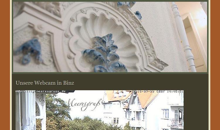 Webcam Binz Margaretenstraße