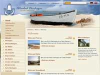 Webcam Dierhagen mit Blick auf den Strand und über den Hafen zum Saaler Bodden