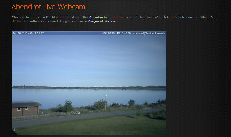 Webcam Gager Bodden