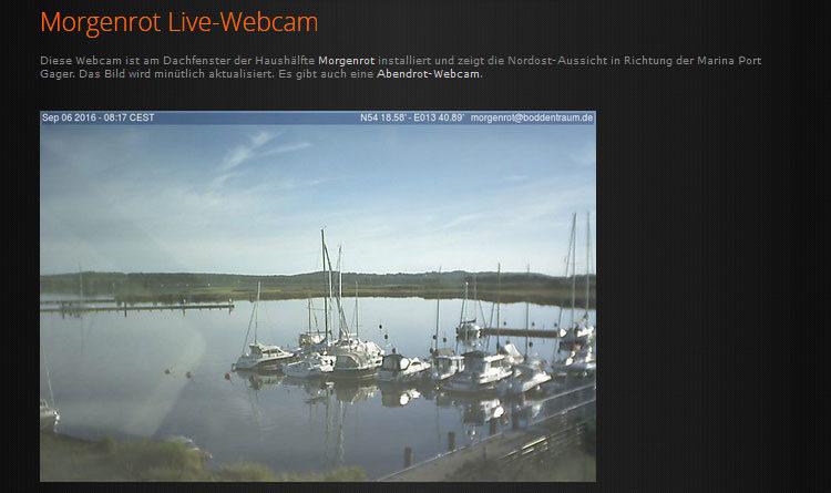Webcam Gager Hagensche Wiek Hafen