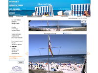 Webcam Göhren mit Blick auf Strand und Seebrücke