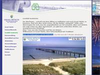 Strand und Seebrücke von Gral-Müritz