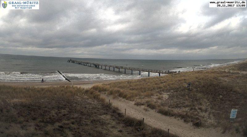 Webcam Strand und Seebrücke in Graal-Müritz