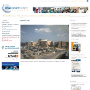 Webcam Greifswald Uniklinikum