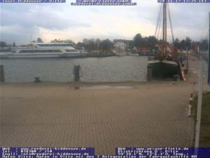 Webcam Hafen Vitte (Hiddensee), Anlagestelle der Fahrgastschiffe