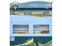 Webcam Rostock Blick auf Mole, Teepott und den Strand von Rostock Warnemünde