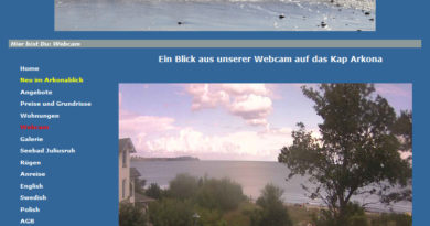 Webcam Breege Juliusruh Kap Arkona