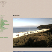 Webcam Kloster Hiddensee mit Blick auf den Strand