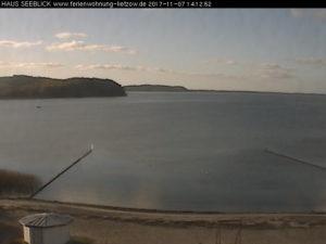 Webcam Lietzow - Blick Richtung Westen über den Großen Jasmunder Bodden