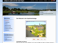 Webcam Lobbe - Blick in die Apartmentanlage