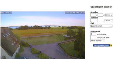 Webcam Loddin Achterwasser