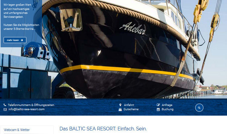 Yachthafen - Marina Kröslin