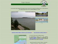 Webcam Neuendorf mit Blick über Rügenscher Bodden Richtung Insel Vilm