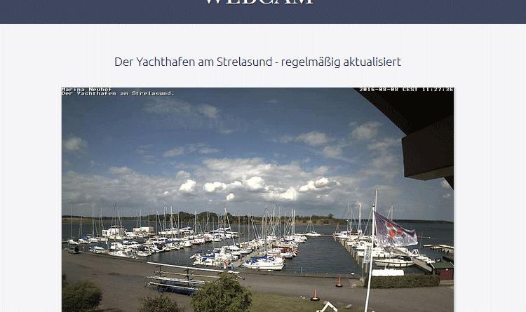 Webcam Neuhof Yachthafen Marina Neuhof