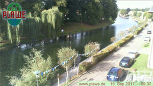 Webcam Plau am See, Schleuse