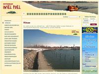 Webcam Insel Poel Hafenmole der Insel Poel