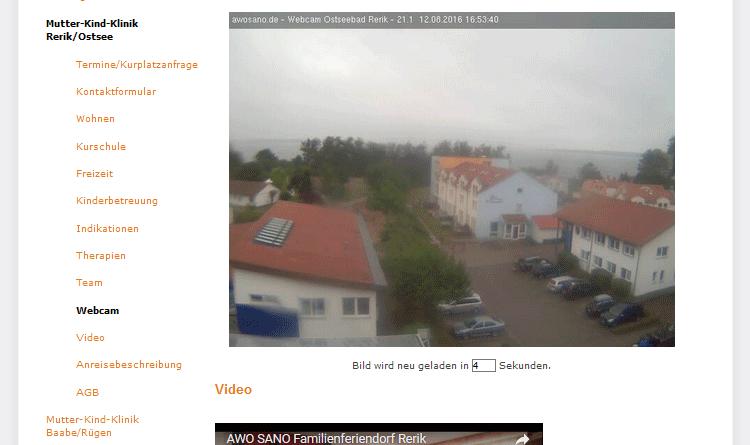 Webcam Rerik Familienferiendorf