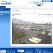 Webcam in der Marina des WSC Röbel
