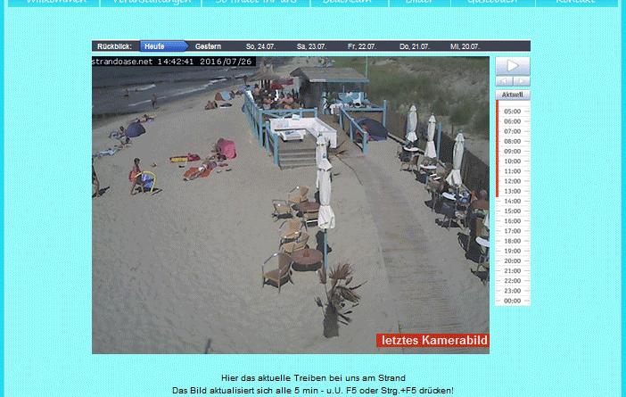 Webcam Markgrafenheide Strandoase