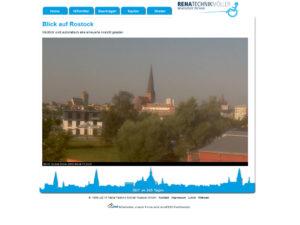 Webcam Rostock östliche Altstadt