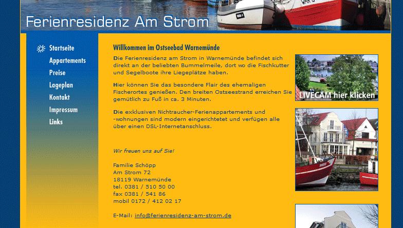 Webcam Rostock Alter Strom Mittelmole