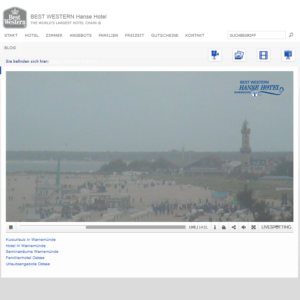 Webcam Warnemünde Livecam Strand