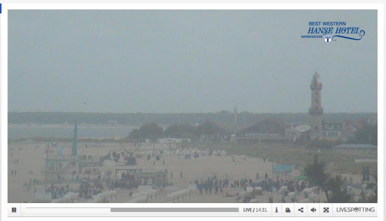 Webcam Warnemünde Livecam Strand