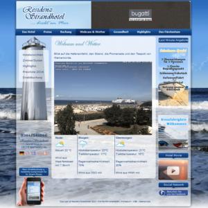 Webcam Rostock Warnemünde Strandpromenade Hafeneinfahrt Teepott