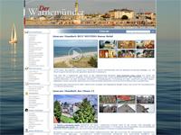 Rostock Warnemünde - Livbilder vom Strand, vom Alten Atrom und vom Yachthafen an der Mittelmole