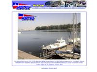 Webcam Rostock - Blick über den Steg des RSC-92 und die Warnow nach Gehlsdorf