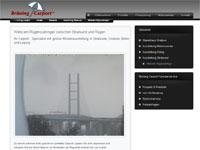 Rügenbrücke über den Strelasund zwischen Stralsund und Rügen