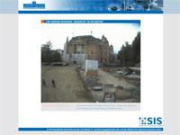 """Webcam Schwerin mit Rundumblick zum Schweriner Schloss, Anleger """"Weisse Flotte"""", Staatliches Museum, Mecklenburgisches Staatstheater und Staatskanzlei"""
