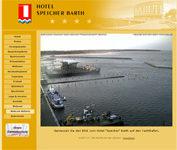 """Webcam Barth Yachthafen vor dem Hotel """"Speicher"""" Barth"""