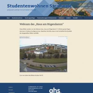 Webcam Stralsund Rügenbrücke