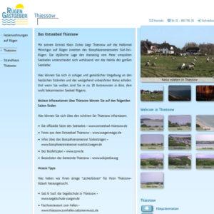 10 Webcams Thiessow Hafen Strand Küste