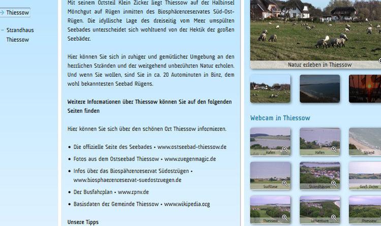 Webcam Thiessow