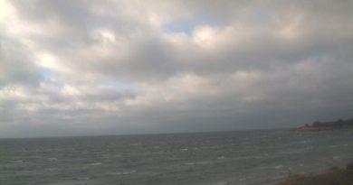 Thiessow Strand - Blick auf den Greifswalder Bodden
