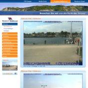 Webcam Vitte Fähranleger im Hafen Vitte (Hiddensee)