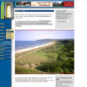 Strand von Vitte auf der Insel Hiddensee