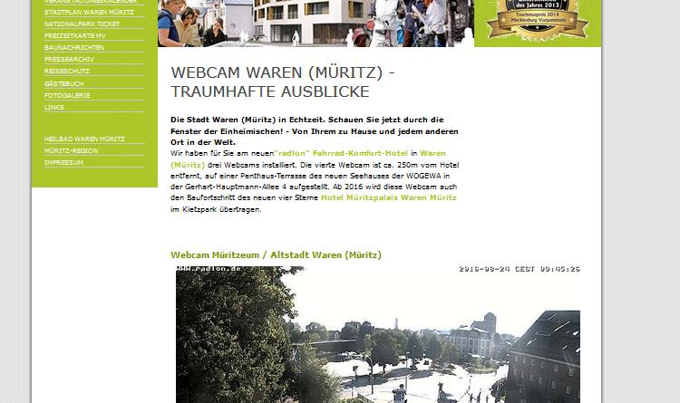 Webcam Waren Müritz