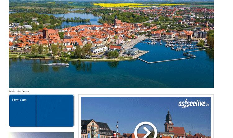 Webcam Waren (Müritz) Hafen