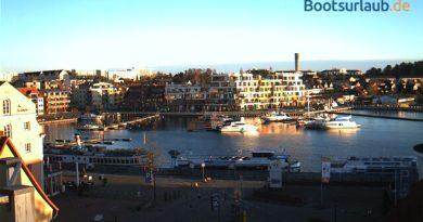 Webcam Yachthafen Waren (Müritz)
