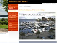 Webcambild vom Stadthafen in Waren (Müritz)