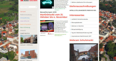 Webcam Parchim Schuhmarkt