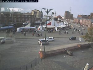 Webcam Wismar Alter Hafen